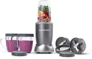 Nutribullet 600 Watts, 12 Piece Set, Multi-Function High Speed Blender, Mixer System with Nutrient Extractor, Smoothie...