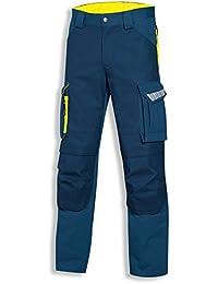 Uvex Safety Arbeitshose metal pro   Cargohose mit vielen Taschen   Bundhose   Sicherheitshose für Herren