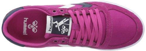 Hummel - Hummel Slimmer Stadil Low, Sneaker Donna Rosa (Pink (RASPBERRY/BLUE NIGHTS))