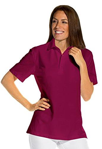 clinicfashion Polo-Shirt Unisex für Damen und Herren, beere, Mischgewebe, Größe XS-XXXL Beere