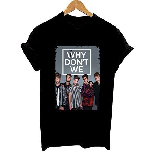 Why Don't We Graphic Tee Shirt Women Summer Fashion T Shirt Girl T Shirt Lady T-Shirt Casual Tops Clothing - Summer Graphic T-shirt