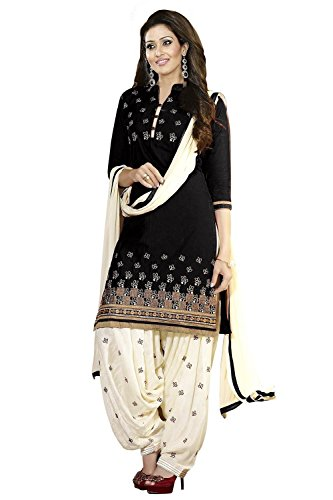 Womens New Designed Fancy Printed Unstiched Dress Material Party & Regular Wear salwar Suit Multi Color (Jugni Flower_Dress)  available at amazon for Rs.199