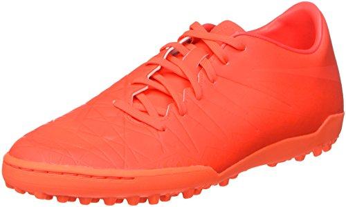 Nike Herren Hypervenom Phelon ii tf Fußballschuhe, Rot (Bright Crimson/Hyper orange), 42.5 EU - Schuhe Nike Für Turf Männer