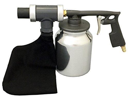 Sandstrahlhaube Druckluft Sandstrahlpistole Sandstrahler 25 kg Strahlmittel