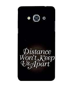 FUSON Designer Back Case Cover for Samsung Galaxy J3 Pro(2017) ::Galaxy J3 Pro (2017) (Black theme Love Relation Religion Pyaar IshQue Quotes)