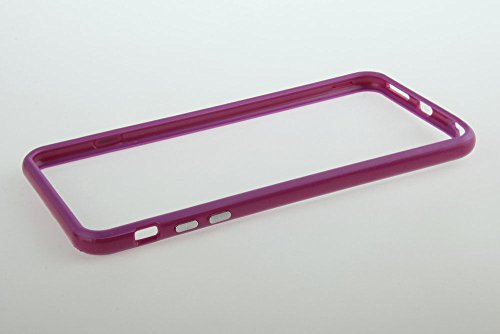 Good Quality Iphone 6 Plus Silicon Bumper Purple by G4GADGET®