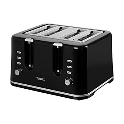 Tower T20010 Essentials 4-Slice Toaster