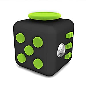 Tepoinn Fidget Toy Cube Toy Anxiety Attention Stress Relief Stocking stuffer Relieves Stress