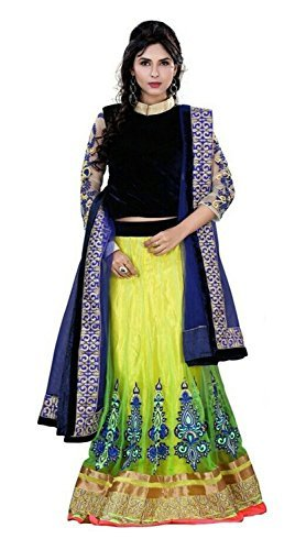 maruti-creation-womens-net-lehenga-choli-mc-12-blue-and-yellow-xx-large