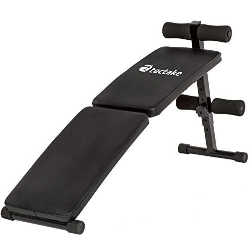 TecTake Banc de Musculation pour Muscles abdominaux Appareil de Fitness Sport Pliable