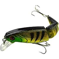 VORCOOL Señuelos de Pesca, Artificial Crankbait Fishing Tackle Tool Señuelos Señuelos flotantes articulados múltiples