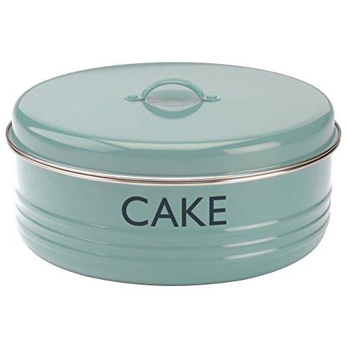 Rund groß Cake Brötchen Pie Food Aufbewahrung Metall Dose Wanne Topf Carrier Box 26cm (Storage Carrier)