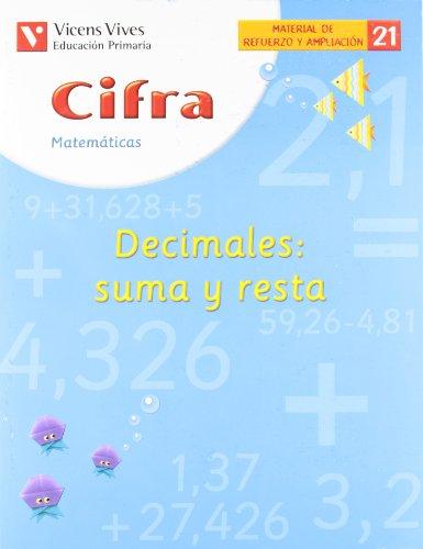 Cifra. Cuaderno 21.  Refuerzo Y Ampliacion. - 9788431607210