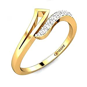 Buy Candere By Kalyan Jewellers 18kt Yellow Gold And. Sad Engagement Rings. Massive Wedding Rings. $2000 Engagement Rings. Color Sapphire Engagement Rings. Him And Her Wedding Rings. Stone Rings. 8th Grade Rings. Shell Shotgun Wedding Wedding Rings