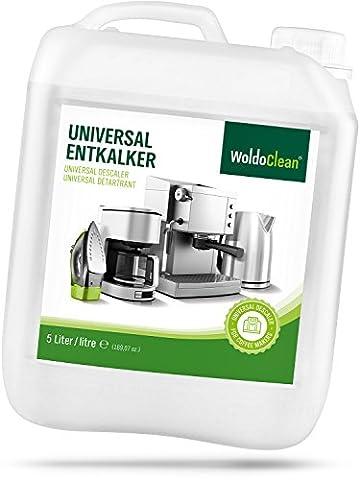 WoldoClean Entkalker für Kaffeevollautomaten 5 Liter Kanister für Kaffemaschinen Kaffeevollautomat