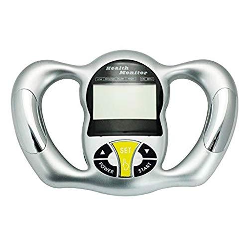 YHNUJMIK Elektronische Körperfett-Messgerät, Körperfett-Monitor Hand Body Mass Index Mit LCD Display Tester Analyzer (Splitter)