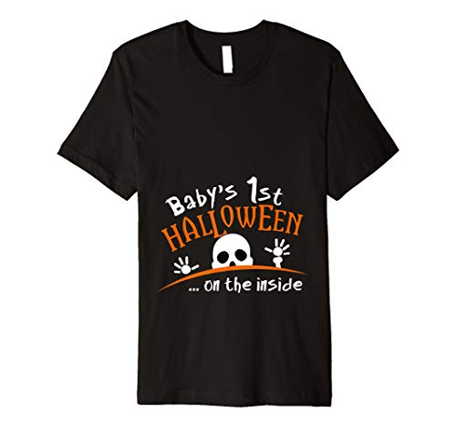 (Baby 's Skelett 1. Halloween auf der Außenseite T-Shirt)