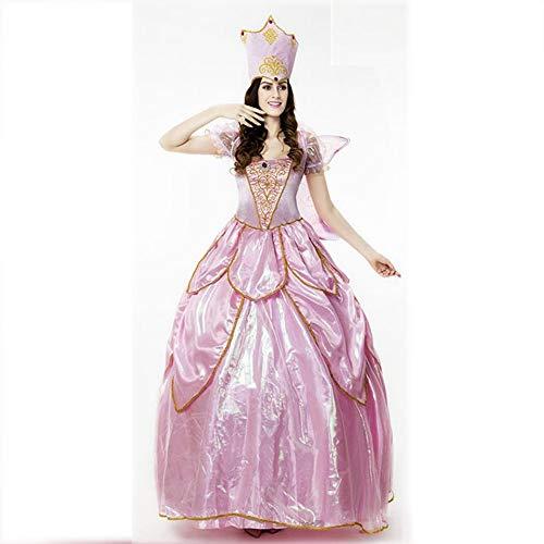 �m Damen, Halloween-Kostüm Prom Queen Kleid Prinzessin Kostüm Shooting Kostüm Mottoparty Kostüm ()