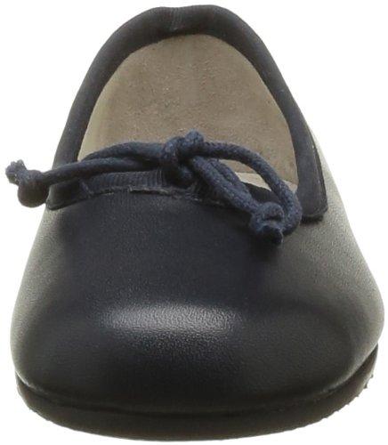 Start Rite Francesca, Ballerines fille Bleu (Navy Leather)