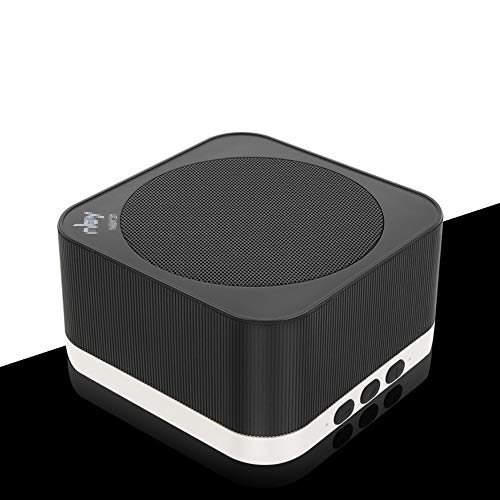 ZENWEN Bluetooth-Lautsprecher Mini Computer Audio Subwoofer Karte Bande Desktop Portable Stereo-HiFi Funklautsprecher Unterstützung AU X/USB/TF Card Slot 4.2 Bluetooth-Freisprech-Aufruf (schwarz)