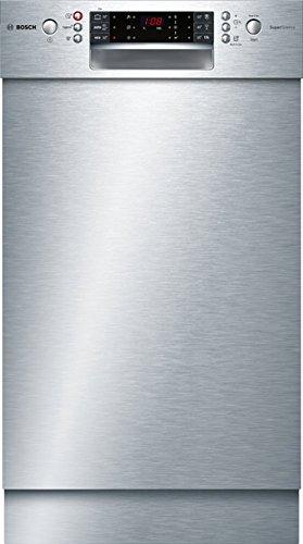 Bosch Serie 6 SPU66TS00E lavavajilla Semi-incorporado 10 cubiertos A++ - Lavavajillas (Semi-incorporado, Acero inoxidable, Estrecho (45 cm), Acero inoxidable, Botones, LED)