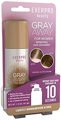 Gray Away Womens Hair Highlighting Product, Lightest Brown/Blond, 1.5 Ounce by Gray Away Womens