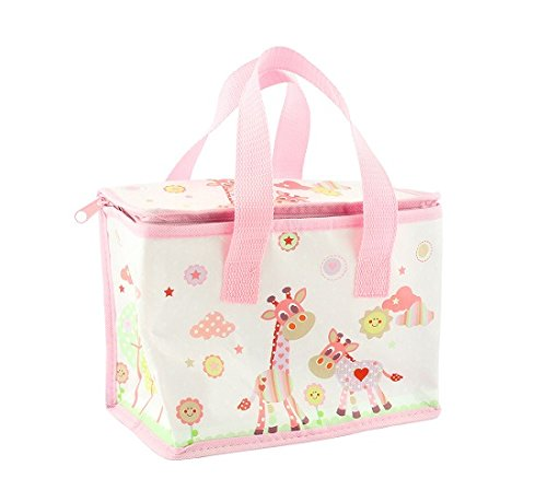 Lesser & Pavey - Little Friandises Little Sunshine Girafe photo aluminium Sac à Déjeuner Isotherme (Rose)