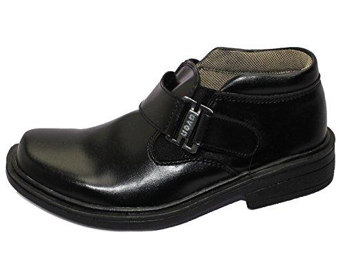 Jungen Schule Schuhe Smart Formelle Kleid Hochzeit Herren Schuhe 11–1,2–5,6–10(29–44) NEU PULL ON