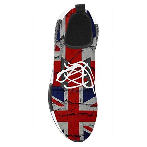 Dalliy Costume Royaume-uni Flag Chaussures Homme Actuelles A