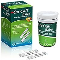On Call Extra Blutzucker Teststreifen (50 Stück) preisvergleich bei billige-tabletten.eu