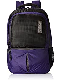 American Tourister Polyester 38 Ltrs Purple Laptop Backpack (AMT TECH GEAR LAPTOP BP 01-PUR)