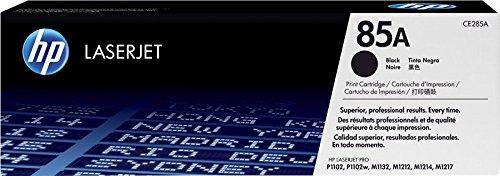 HP 85A CE285A Cartuccia Toner Originale Compatibile con Stampanti P1102 P1102w M1132 MFP M1212 MFP M1210 M1217nfw M1212nf MFP Nero
