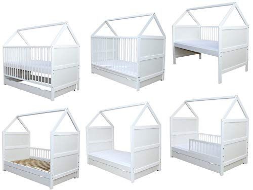 Micoland 3 in 1 Kinderbett Haus Design