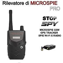 RILEVATORE SPIE PROFESSIONALE DI MICROSPIE SPIA AMBIENTALE 001b, SPY SPIE CIMICI