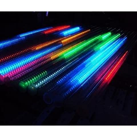 Shangge 30cm 10Tube SMD luce effetto PIOGGIA di meteore caso Meteor 100V-240V decorazione da giardino Leuchten catena luminosa per esterni natale decorazione moderno Multicolore