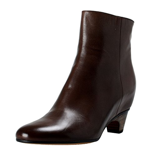 maison-margiela-22-womens-brown-leather-hidden-heel-ankle-boots-shoes-us-6-it-36