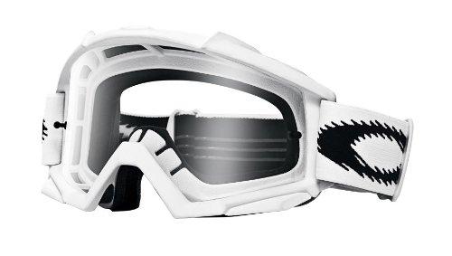 Oakley Crossbrille Proven MX Matte White - Klar