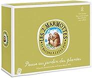 Les 2 Marmottes Coffret Pause Au Jardin Des Plantes - A Partager Sans Modération Avec Ses Collègues ! 5 Infusi