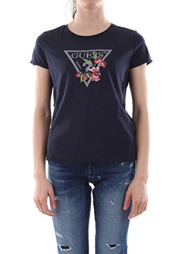 Guess W92I67 JA900 Camisetas Y Camisa DE Tirantes Mujer BLU XS