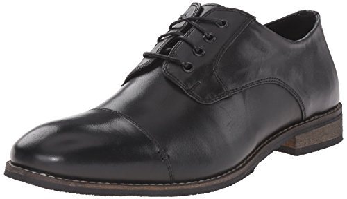 nunn-bush-holt-cap-toe-uomo-us-12-nero-larga-scarpe-scolatte