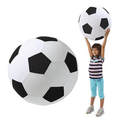 """XXL Fußball Groß """"Giant"""" Spielzeug Dekoartikel Ø 50 cm Riesenfußball Spielball Fanartikel"""