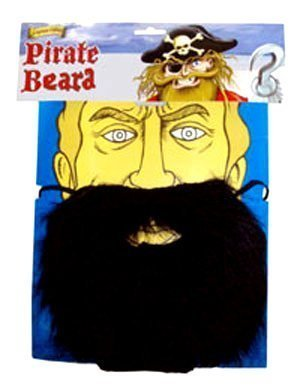 Piraten Vollbart (Bart Piraten)