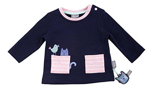 Sigikid Mädchen, Baby Sweatshirt, Blau (Peacoat 260), 86