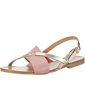 PIECES Damen Psjoyce Leather Sandal Multi Slingback