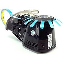 START International TDA025B-2EU Dispensador de Cinta Eléctrico de Alta Velocidad, Ancho Máximo 25 mm, Longitud Máxima de Corte de 70 mm, Negro