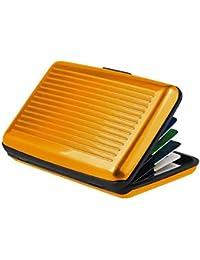 d06a1a50303292 Comtechlogic® CM-4050 RFID Blocking Anti Scan Aluminium Security Wallet  Card Holder Hard Case for Credit Debit ID…