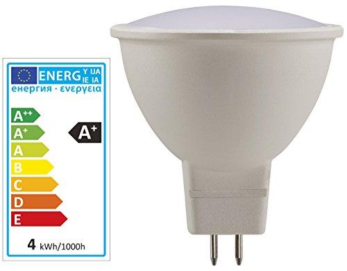 LIVARNO LUX LED-Lampe, 3W (=21W), 200 lm, GU5.3, 2700 K warmweiß