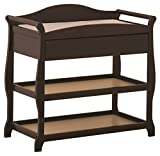 Best Stork Craft Baby Cribs - Stork Craft Aspen Changing Table with Drawer Espresso Review