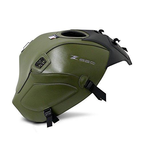 Tankschutzhaube Bagster Kawasaki Z 650 2018 grün/schwarz