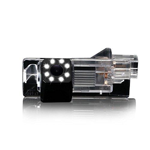 Kalakass Cam/éra de Recul Voiture en Couleur Kit Cam/éra vue arri/ère de voiture Imperm/éable IP67 avec large Vision Nocturne pour Master Fluence Duster Latitude Megane Cabrio clio 4 Terrano Lodger